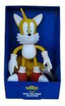 Boneco Tails Grande Sonic Collection Articulado Aprox. 25 Cm -