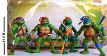 Boneco Tartaruga Ninja Kit Com 4 Com Acessórios - Ptoys