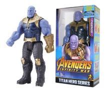 Boneco Thanos 30cm Articulado com Som e Luz Vingadores - Avengers