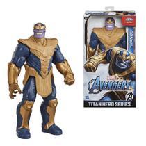 Boneco Thanos Titan 12p Blast Gear Avengers Marvel E7381  Hasbro -