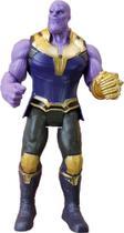 Boneco Thanos Vingadores Articulado 17cm com luz - Avengers