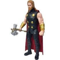 Boneco Thor 30cm Articulado com Som e Luz - Avengers