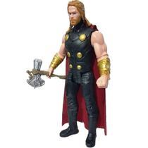 Boneco Thor 30cm Machado Som Luz - Haowan