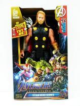 Boneco thor avengers -  articulado 30 cm - Marvel