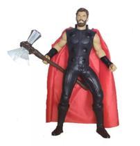 Boneco Thor End Game Gigante De Vinil Articulado Mimo 0567 -