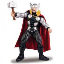 Boneco Thor Premium Gigante, 55 Cm, Avengers, Mimo -