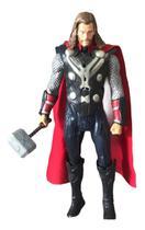 Boneco Thor Ragnarok 30cm Com Luz/led E Sons Na Caixa Lindo Para Brincar Ou Colecionar - Pj