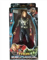 Boneco Thor Ragnarok 30cm Com Luz/led E Sons Na Caixa -