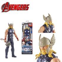 Boneco Thor Vingadores Avengers Marvel Titan Hero - Hasbro -