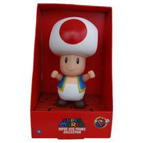 Boneco Toad - Super Mario Bros Grande Original - Super Size Figure Collection