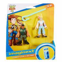 Boneco Toy Story 4 Betty e Carl Imaginext - Mattel GBG89 -