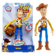 Boneco Toy Story 4 True Talkers Woody Com Sons Mattel Gfl88