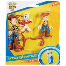 Boneco Toy Story 4 Woody e Forky Imaginext - Mattel GBG89 -