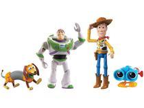 Boneco Toy Story Baú de Brinquedos do Andy - 4 Peças Mattel