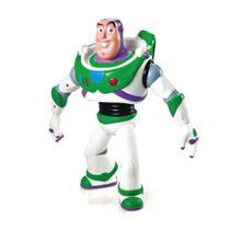 Boneco Toy Story Buzz Lighyear de 18cm Disney Acabamento Premium em Vinil - Lider