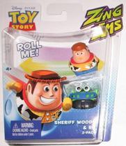 Boneco Toy Story com 2 unidades brinquedo  Woody & RC - Mattel