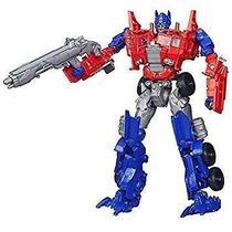 Boneco Transformers Autobots Transformers 5 Optimus Prime Voyager Class 19cm Principal - Desconhecido