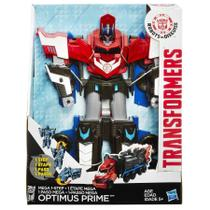 Boneco Transformers Robots In Disguise Mega Optimus Prime B1564 - Hasbro -