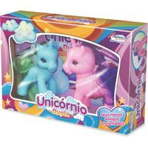 Boneco Unicornio Dupla Vinil Apolo -