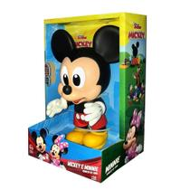 Boneco Vinil Mickey Baby Disney Jr 26cm - Disney, Mickey, New Toys