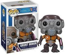 Boneco vinil - pop halo - grunt minor halo - Funko - Cards & Cia