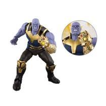 Boneco Vinil Thanos Gigante Avengers Mimo Brinquedos 0564 -