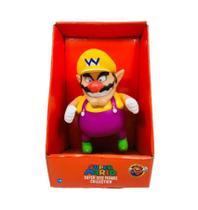 Boneco Wario - Super Mario Bros Grande Original - Nintendo