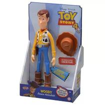 Boneco Woody Toy Story 4  Sem Som 30 cm Articulado - Toyng -