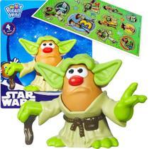 Boneco Yoda Star Wars Mr. Potato Head Sr. Batata Hasbro + Adesivo -