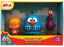 Bonecos da Família Galinha Pintadinha - Elka -