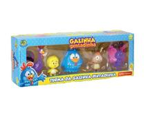 Bonecos Da Galinha Pintadinha - 5 Bonecos - Dtc