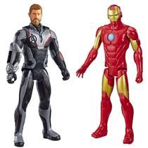 Bonecos de Ação Homem de Ferro e Thor - Marvel Titan Hero 30cm - Hasbro -
