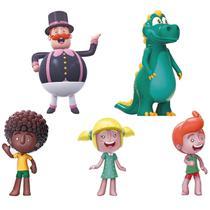 Bonecos De Vinil Mundo Bita Família 5 Personagens - Líder - Líder Brinquedos
