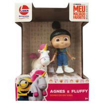 Bonecos em Vinil Agnes e Fluffy 2857 - Lider -