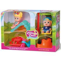 Bonecos Little DOLLS Super Playground Divertoys 8126 -