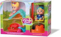 Bonecos Little Dolls Super Playground - Divertoys -