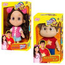 Bonecos Maria Clara e JP Kit Original Articulado Baby Brink -