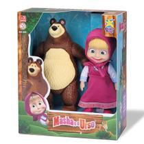 Bonecos Marsha e o Urso Divertoys 8117 -