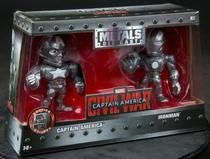 Bonecos Matal Die Cast Capitão America e Homem De Ferro 3956 - Geral