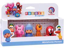 Bonecos Miniaturas Pocoyo - Brinquedos Cardoso -