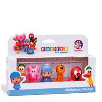 Bonecos miniaturas pocoyo - Cardoso Brinquedos