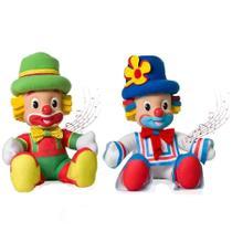 Bonecos musicais palhaços patati patatá - Novabrink