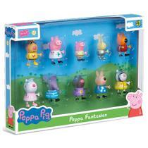 Bonecos Peppa Pig e Amigos Peppa Fantasias Serie 2 Dtc 4859 -