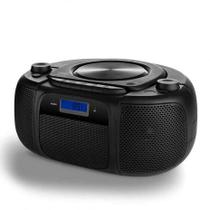 Boombox Com Bluetooth Fm E Cd 25w Rms Preto Multilaser  Sp244