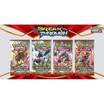 Boosters pokemon tcg: xy08 breakthrough (avulso) - cards