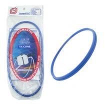Borracha de panela de pressão em silicone azul 4,5 litros  20 unidades - Guamantec