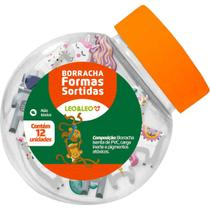 Borracha Decorada 4 Formatos Sortidos - Leonora