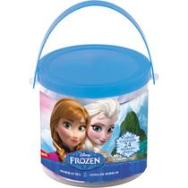 Borracha decorada frozen sortidas pote com 24 unidades - Summit