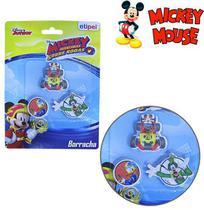 Borracha escolar kit com 3 peças mickey mouse - Etipel