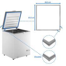 Borracha Gaxeta Freezer Consul CHA22EB CHB53EB - Loja Do Refrigerista